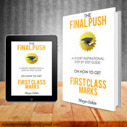 Book Cover Design for the Final Push by MiloshJevremovic