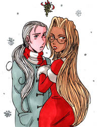 Integra x Maxwell - Christmas Love by mistressmariko