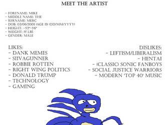 Meet the Artist by mmcdonald826