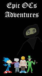 Epic OCs Adventures - Smartphone Wallpaper by mmcdonald826