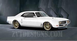1968 Pontiac Firebird by zvtdesigns
