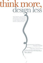 Poster Ad for Typography by mluna