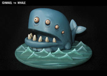 Ishmael the Whale by MorffinCreations