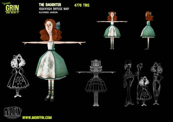 The Daughter by MorffinCreations