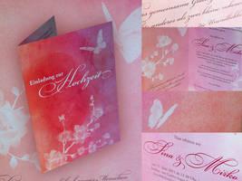 Wedding Invitation by kenazmedia