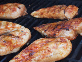 grilled chicken by kenazmedia
