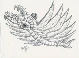 Anomalocaris by HodariNundu