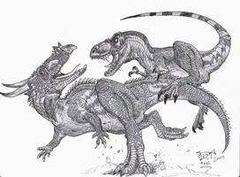 Battle of the Kings by HodariNundu