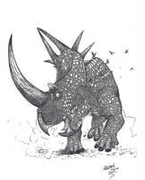 Rubeosaurus by HodariNundu