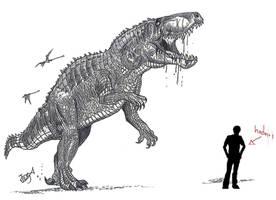 Fasolasuchus by HodariNundu