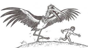 Storkzilla by HodariNundu