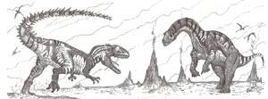 Tendaguru Titans: Introducing Veterupristisaurus by HodariNundu