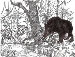 Always a Bigger Cat by HodariNundu
