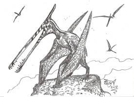 Moganopterus by HodariNundu