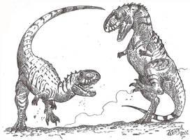 Eoabelisaurus by HodariNundu