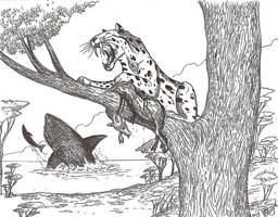 Rhizosmilodon by HodariNundu
