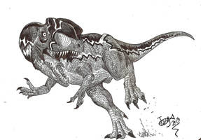 Sinosaurus triassicus by HodariNundu