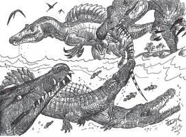 Fishing. With Bait. For crocodiles. by HodariNundu
