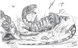 Digging Raptor At Long Last! by HodariNundu