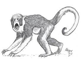 Protopithecus by HodariNundu