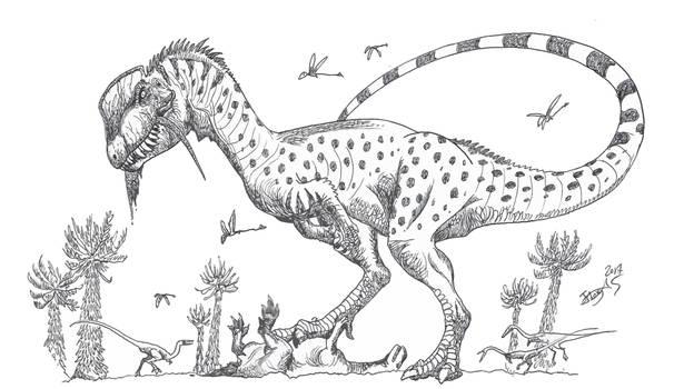 The first megatheropod? by HodariNundu