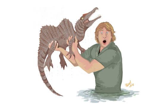 Crikey, it's a dinosaur! by HodariNundu