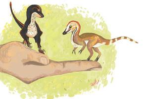 Diminutive Dinos! by HodariNundu