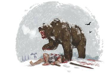 Savage Steppebear by HodariNundu