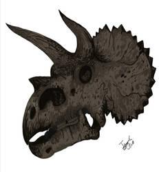 Triceratops! by HodariNundu