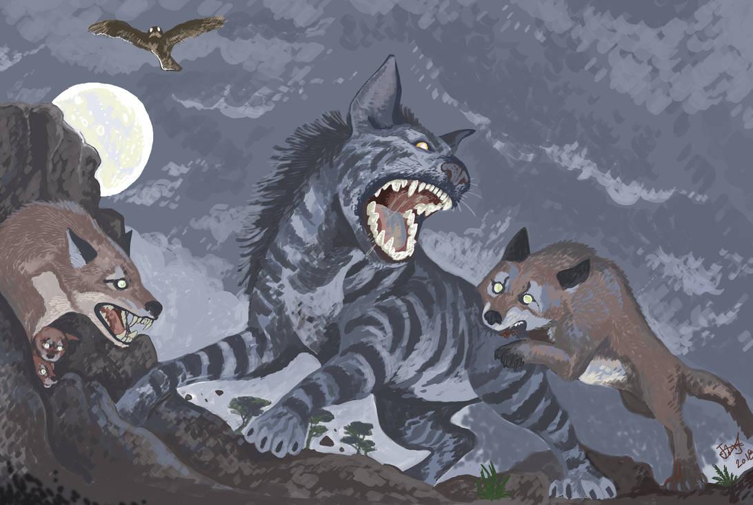 Night of the Javan Wolf by HodariNundu