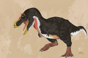 Happy New Year Tyrannosaur by HodariNundu