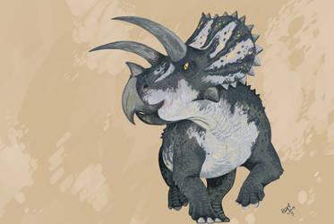 Triceratops by HodariNundu