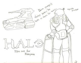 HaloWalker Request by MikoChika