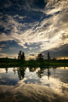 Little Rapids Reservoir by tfavretto