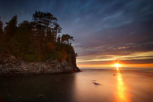 Cliffside Sunset by tfavretto
