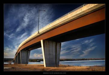 Bridge to St. Joseph Island by tfavretto