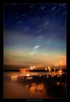 Stars over Sand Bay by tfavretto