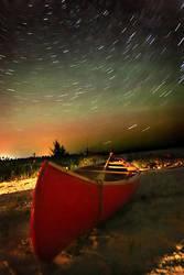 Stars over Canoe Point by tfavretto