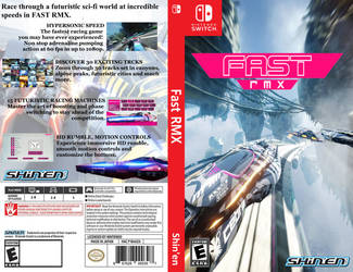 Fast RMX box art by JeffCross