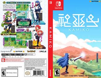 Kamiko box art by JeffCross