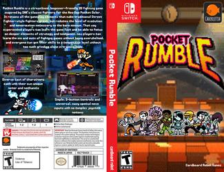 Pocket Rumble box art by JeffCross