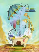 The bath by cristalreza
