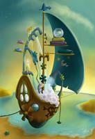 The Pirate Bath by cristalreza