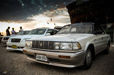 3 Generations of the Toyota Crown by gen4accord