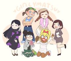 Girly-matsu by Dyohna