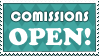 Stamp: Comissions OPEN by AaronBelli