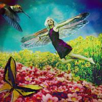 Serene Fairy by faryewing