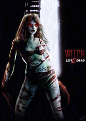 Left 4 Dead - Witch by juhoham