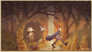 Over The Garden Wall by juhoham