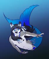 (c) Maku's merwolf form by MasterofWolves99